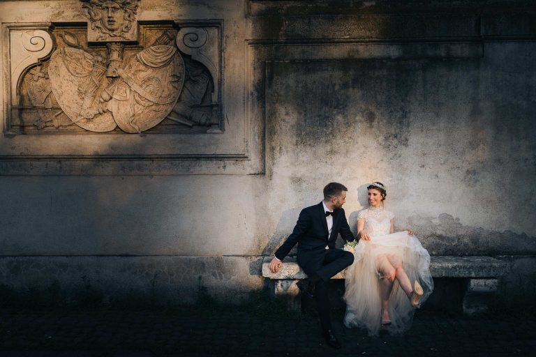 Wedding in the Studi Romani