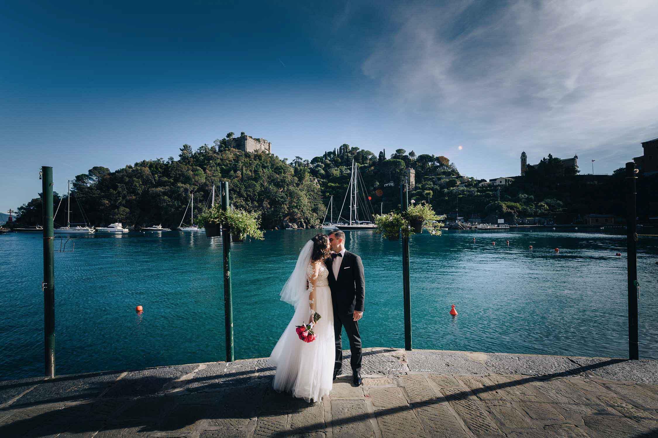 fotografo matrimoni portofino